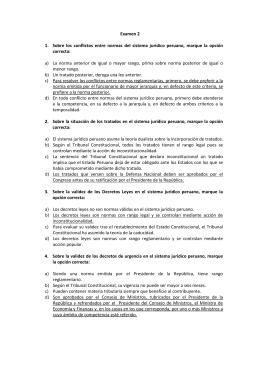 Examen 2 - Consejo Nacional de la Magistratura