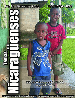 No. 68  - Revista de Temas Nicaragüenses