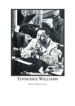 Tennessee Williams, un escritor de película