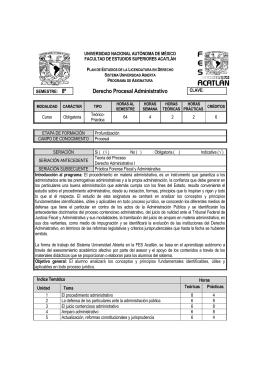 40 Derecho Procesal Administrativo - FES Acatlán