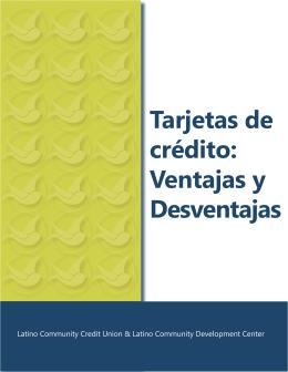 Tarjetas de crédito - Latino Community Credit Union