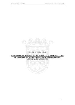 Ayuntamiento de Tudela Ordenanzas de Exacciones 2013 137