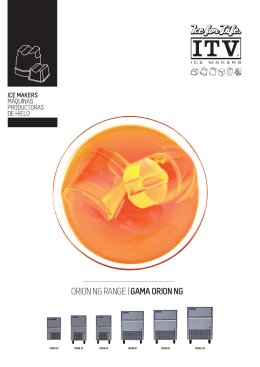 ORION NG RANGE | GAMA ORION NG