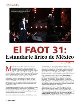 Estandarte lírico de México