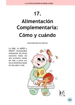17. alimentación Complementaria: Cómo y cuándo