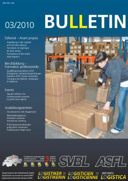 Editorial – Avant propos Berufsbildung – Formation