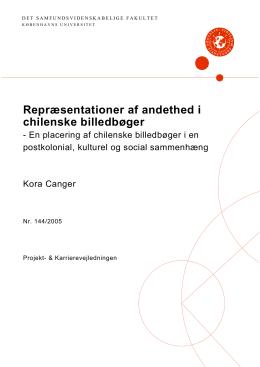 Rapport 144/2005  - Det Samfundsvidenskabelige Fakultet