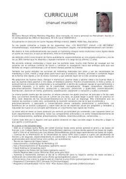 Manukleart Currículum Vitae