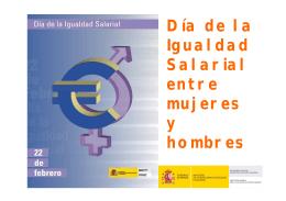 Día de la Igualdad Salarial entre mujeres y hombres