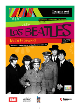 DOSSIER de Prensa Expo Beatles