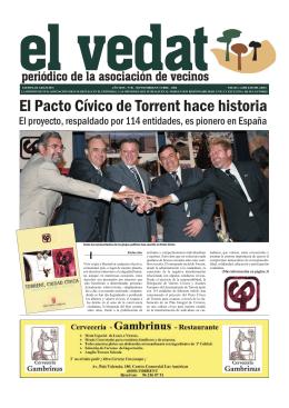El Pacto Cívico de Torrent hace historia