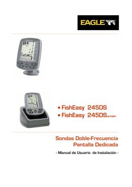 • FishEasy 245DS • FishEasy 245DS-portátil-