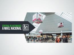 PRESENTACION CENTRAL DE AUTOBUSES 2015