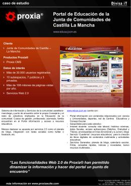 Descargar caso de estudio Portal de Educación de la Junta