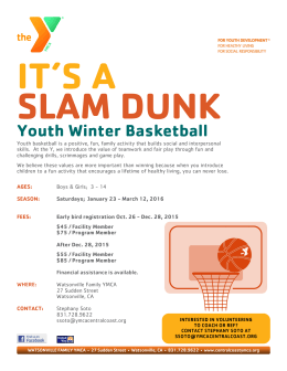 Youth Winter Basketball