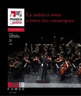La Banda Federal oferirà la seua música a El Verger i l`Auditori de