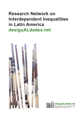 Research Network on Interdependent Inequalities in Latin America