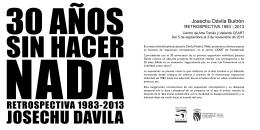 catàlogo - Josechu Davila