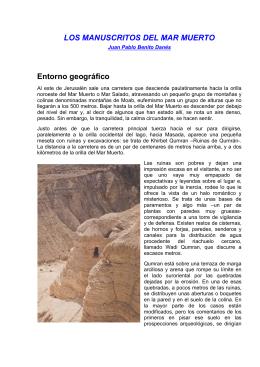 Danes Juan P B - Los Manuscritos Del Mar Muerto