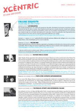 Programa Xcèntric. Enero-Febrero 2013