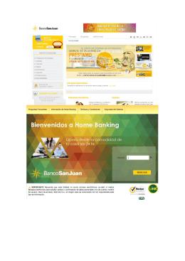 Pago Por Home Banking