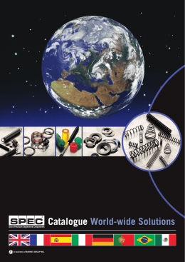 Catalogue World-wide Solutions