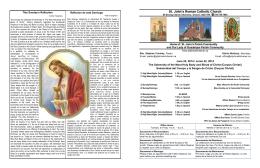 Boletín para el fin de semana del 22 de junio de 2014.