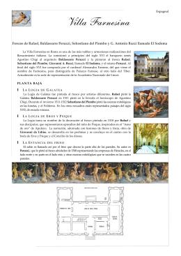 Villa Farnesina - Accademia Nazionale dei Lincei