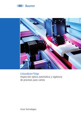 ColourBrain®Edge Inspección óptica automática y vigilancia de