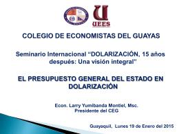 UNIVERSIDAD DE GUAYAQUIL FACULTAD DE CIENCIAS