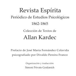 Revista Espírita 1862 - 1865 - Federación Espírita Española