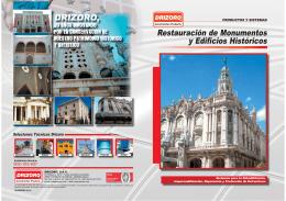 Restauración de Monumentos y Edificios Históricos