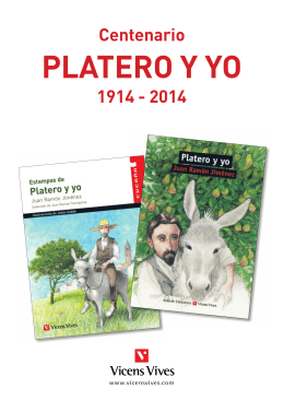Estampas de Platero y yo - Editorial Vicens Vives