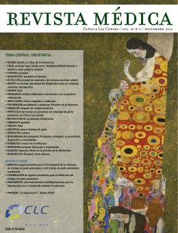 Clínica Las Condes / vol. 25 n0 6 / noviembre 2014