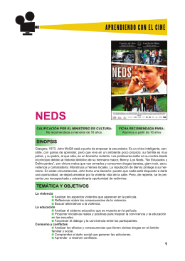 NEDS - Anexo - Aprendiendo con el cine europeo