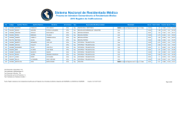 Residentado Medico 2015