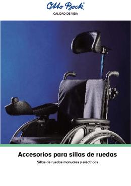 Accesorios para sillas de ruedas