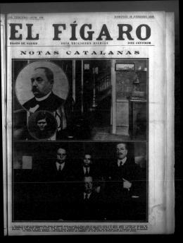 El Fígaro: diario de Madrid. 29 de Febrero de 1920, nº 550