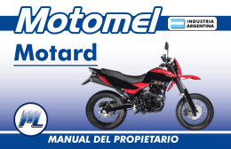 Motard - Motomel