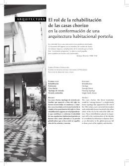 arquitectura El rol de la rehabilitación de las casas chorizo