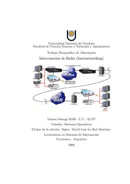 Introducción a la Interconexión de Redes