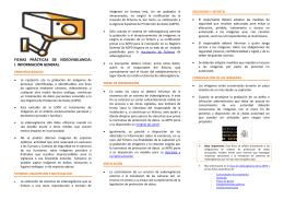Fichas prácticas videovigilancia - Agencia Española de Protección
