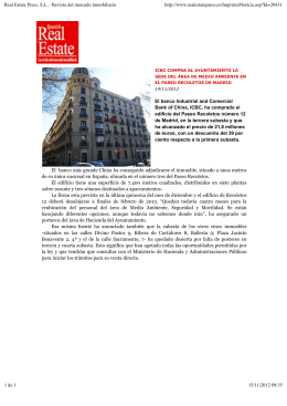 Real Estate Press, S.L. - Revista del mercado - i