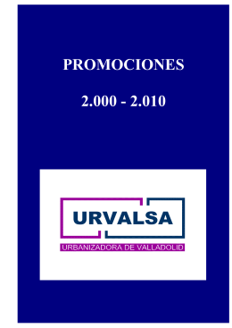 Folleto de Urvalsa