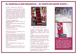 EL GANCHILLO QUE ENGANCHA EL PUNTO DE HACER
