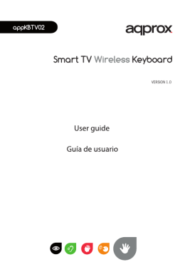 Smart TV Wireless Keyboard