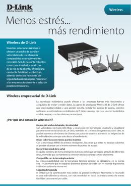 Presentación Wireless