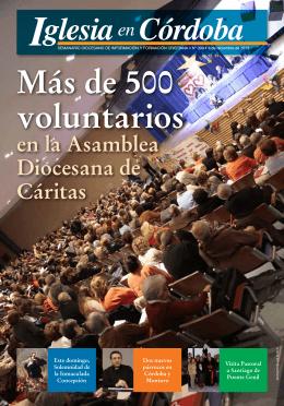 en la Asamblea Diocesana de Cáritas
