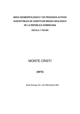 monte cristi - Servicios de mapas del IGME