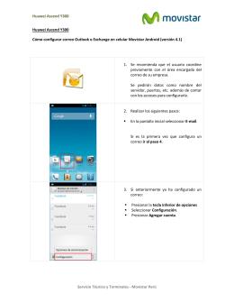 Cómo configurar correo Exchange o Outlook